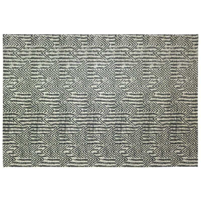 Tapis tissu argent 170*230 - NORSK