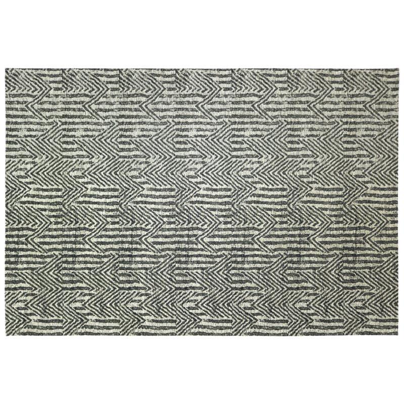 Tapis tissu argent 200*300 - NORSK