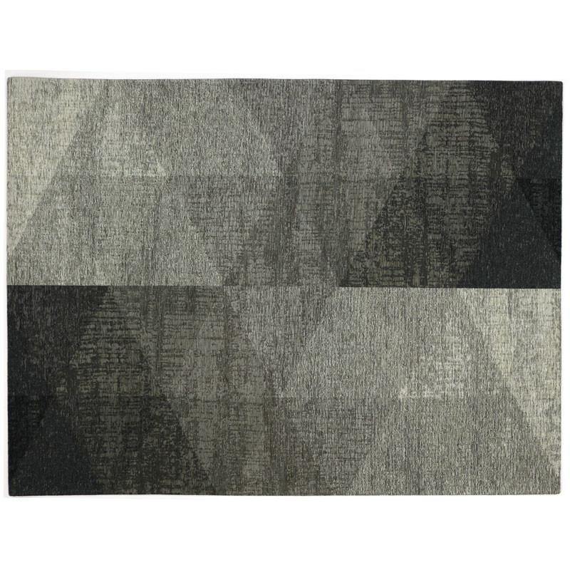 Tapis géométrique Tissu argent 170*230 N°2 - ALGARVIA