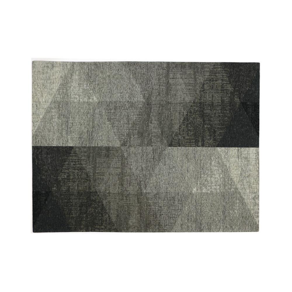 Tapis géométrique Tissu argent 240*340 N°2 - ALGARVIA