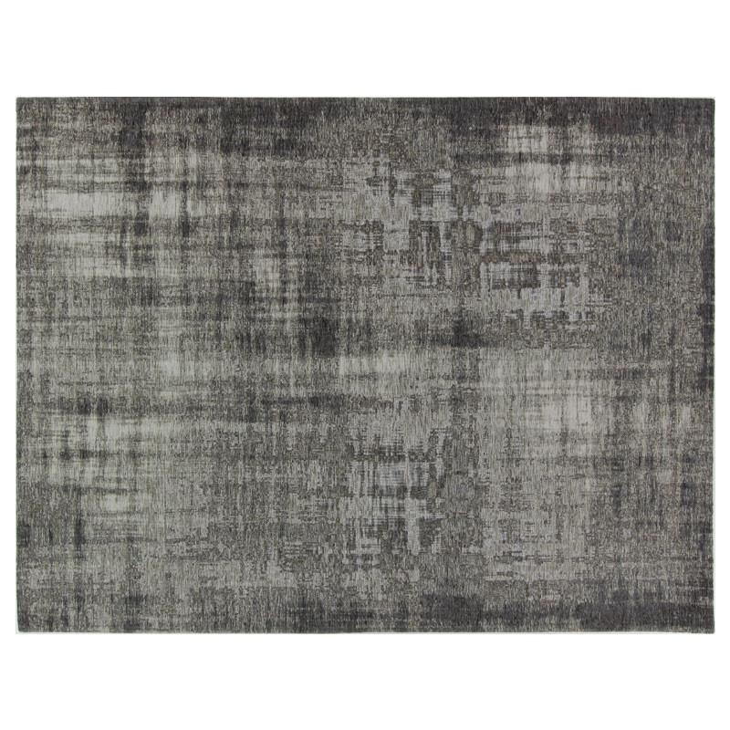 Tapis tissu gris métallisé 200*300 - CAUCHOIS
