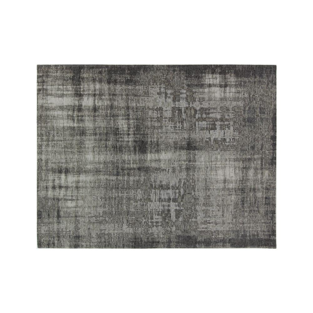 Tapis tissu gris métallisé 240*340 - CAUCHOIS