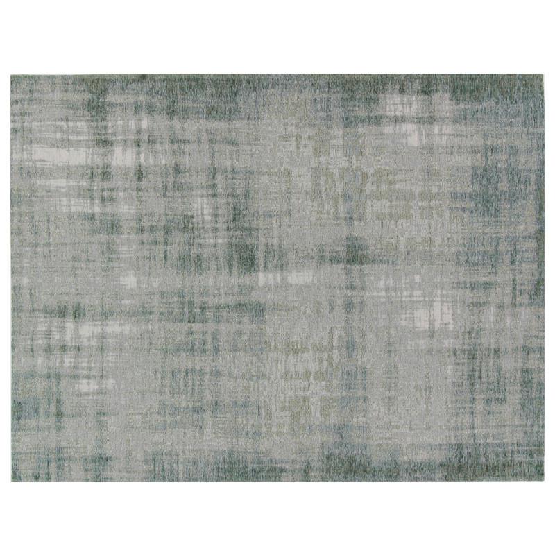 Tapis Tissu vert d'eau blanchi 170*230 - CAUCHOIS