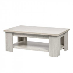 Table basse rectangulaire Chêne blanchi - LIERRE