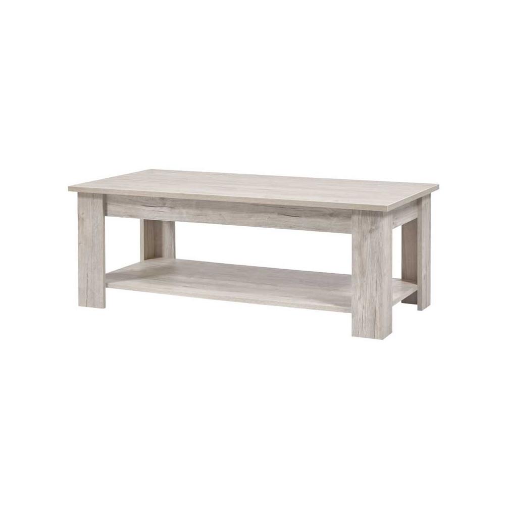 Table basse rectangulaire Chêne granulé - MOUSCRON