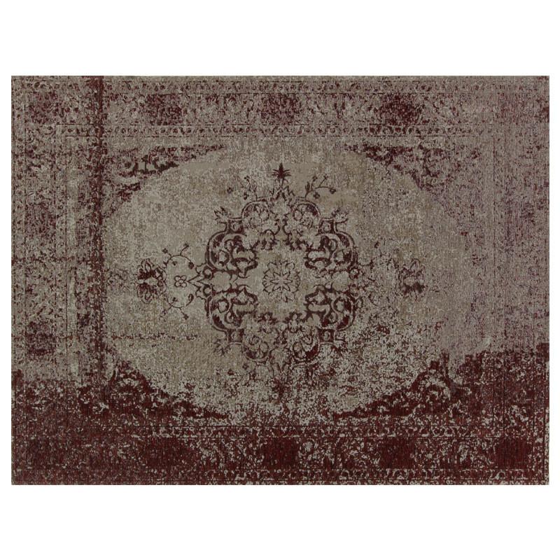 Tapis persan Tissu bordeaux 200*300 - HUSUMER