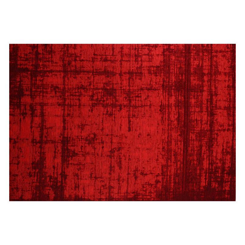 Tapis tissu rouge 170*230 - MUKOTA