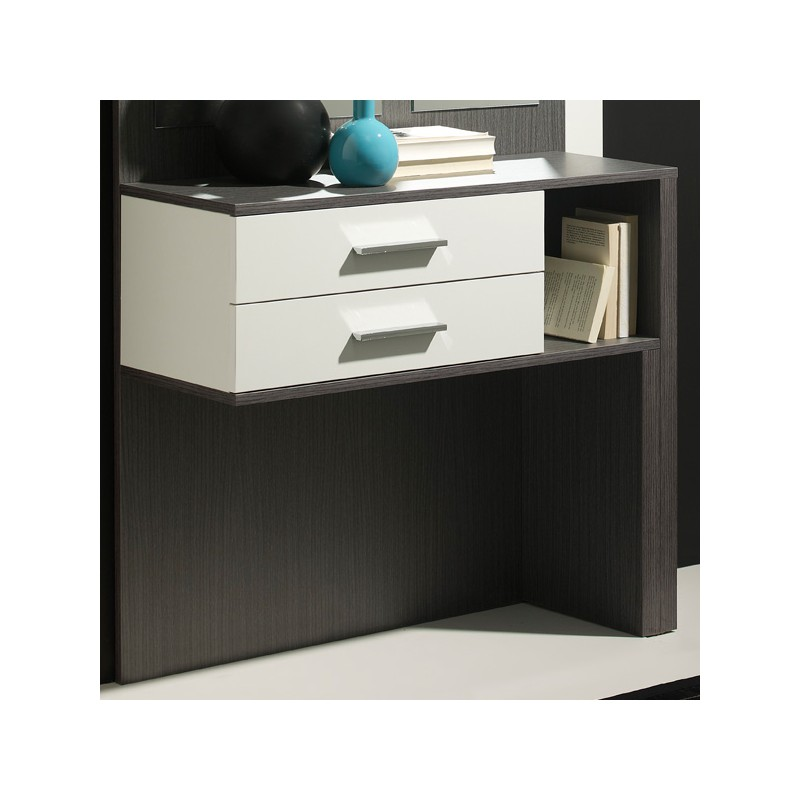 meuble d 39 entr e blanc cendre miroirs mokene univers petits meubles. Black Bedroom Furniture Sets. Home Design Ideas