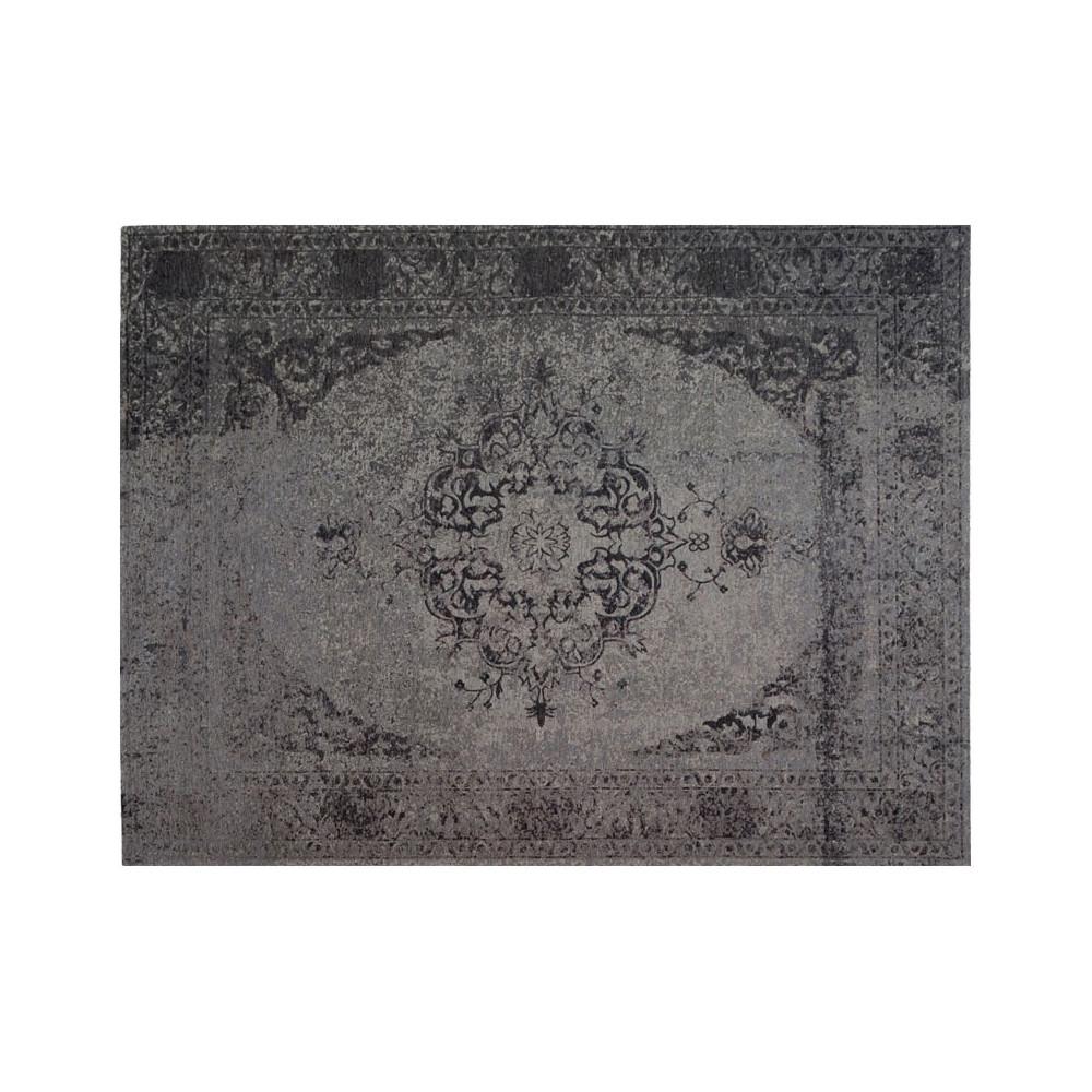 Tapis persan Tissu gris 170*230 - HUSUMER