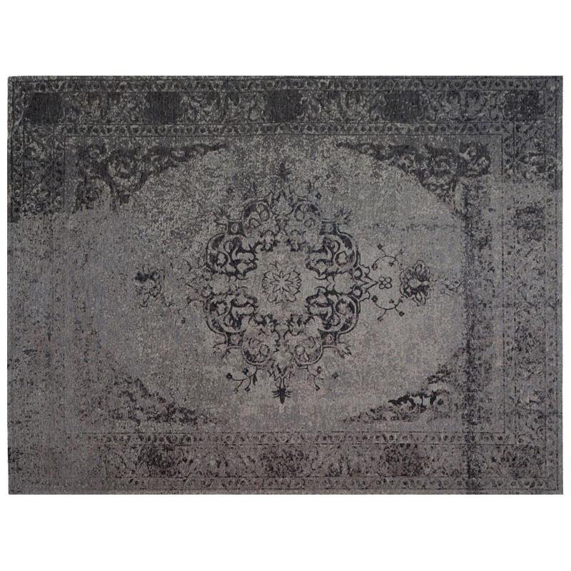 Tapis persan Tissu gris 240*340 - HUSUMER