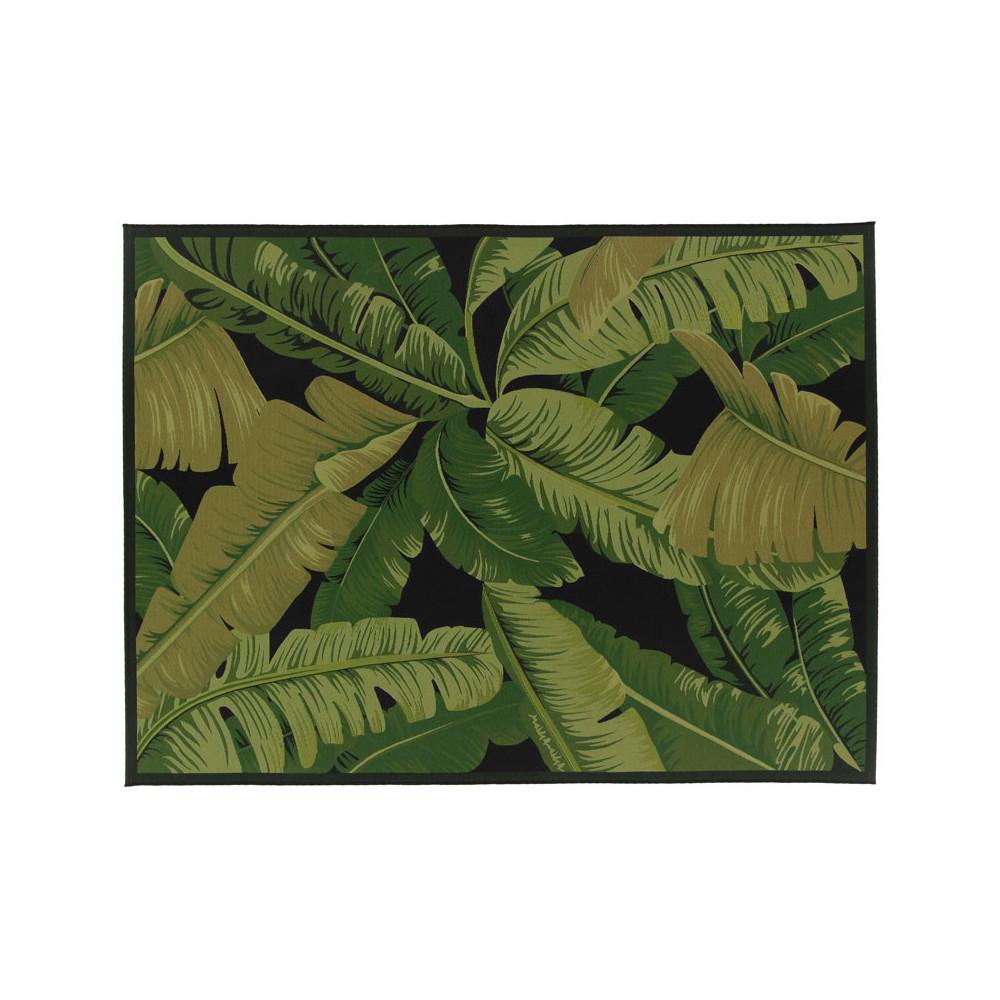 Tapis d'extérieur Tissu feuilles 200*290 - BREITOVO