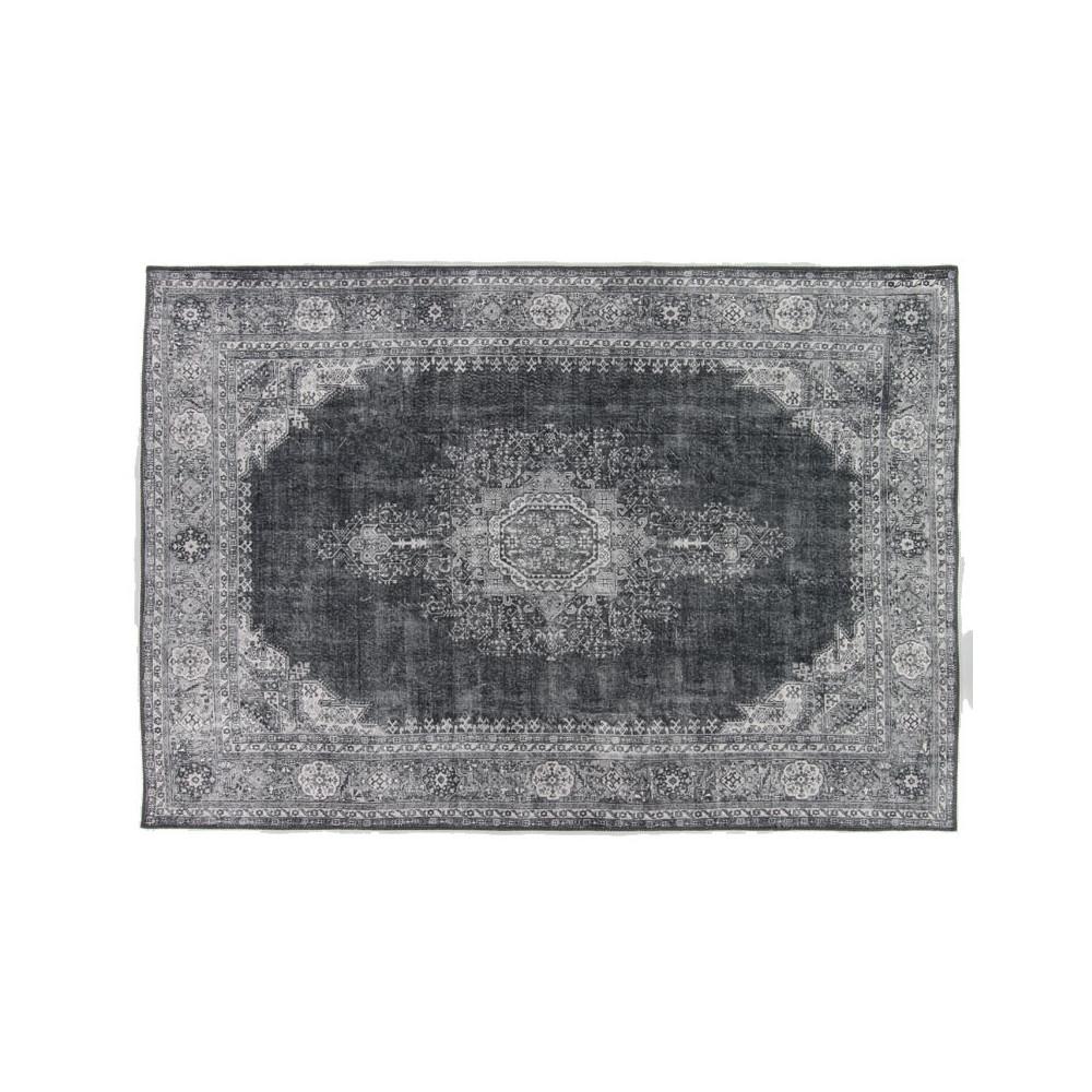 Tapis persan Tissu charbon 160*230 - GRAVESIA