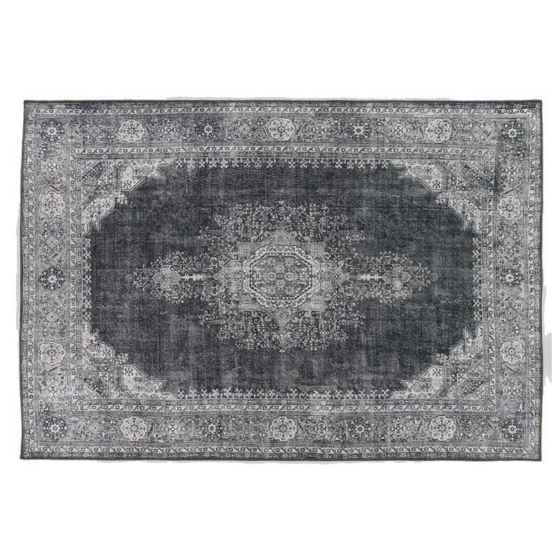 Tapis persan Tissu charbon 190*290 - GRAVESIA