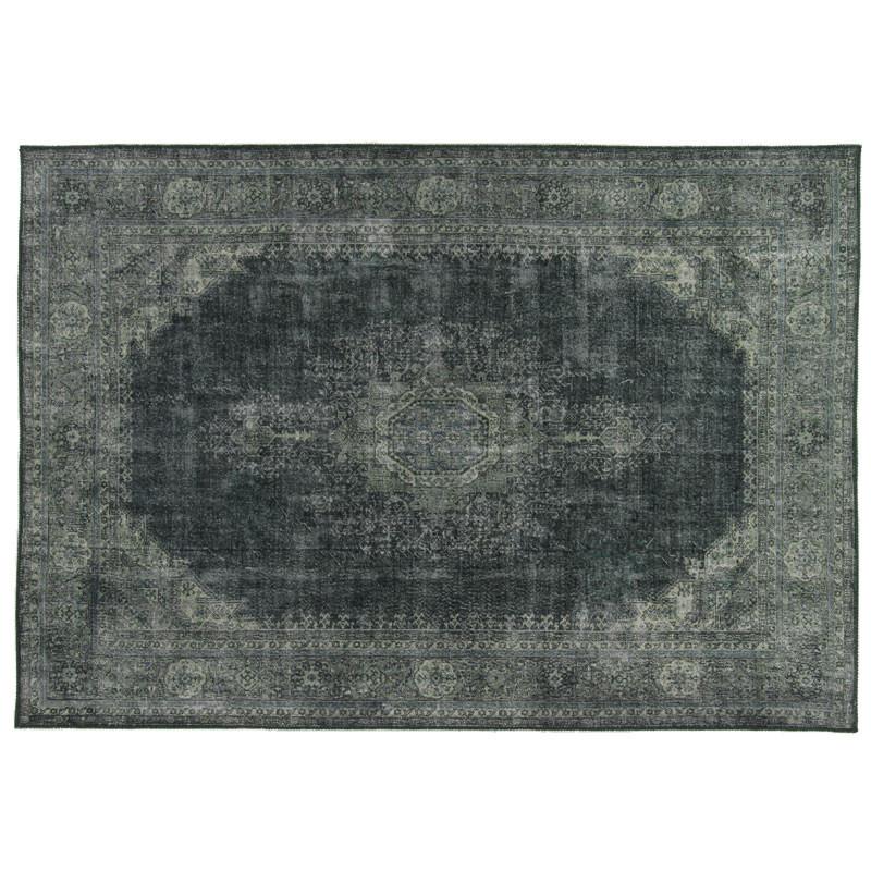 Tapis persan Tissu vert 190*290 - GRAVESIA