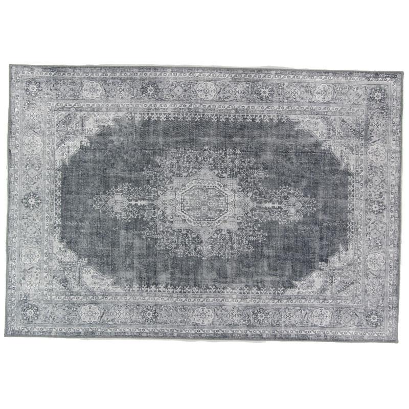 Tapis persan Tissu gris 190*290 - GRAVESIA