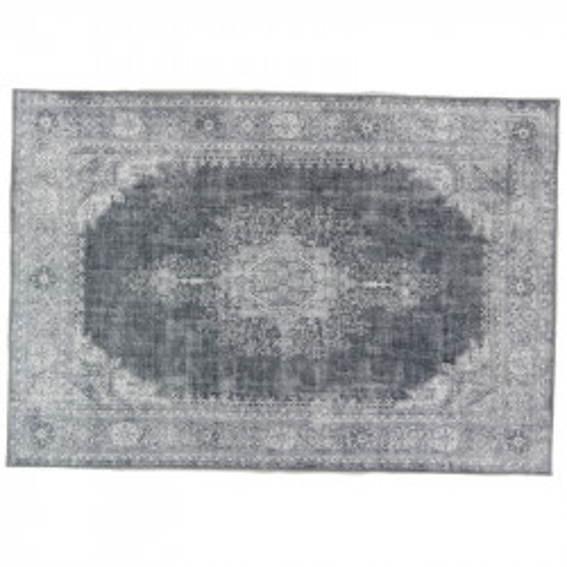 Tapis persan Tissu gris 160*230 - GRAVESIA
