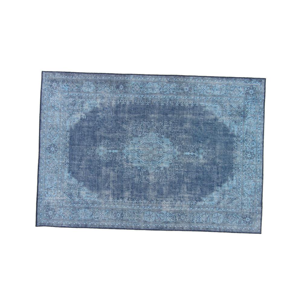 Tapis persan Tissu bleu 190*290 - GRAVESIA