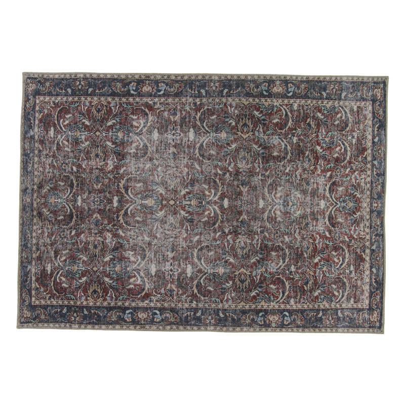 Tapis persan Tissu rouge/bleu 160*230 - PICTONIA