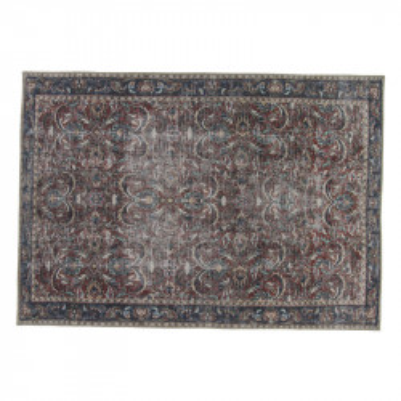 Tapis persan Tissu rouge/bleu 190*290 - PICTONIA
