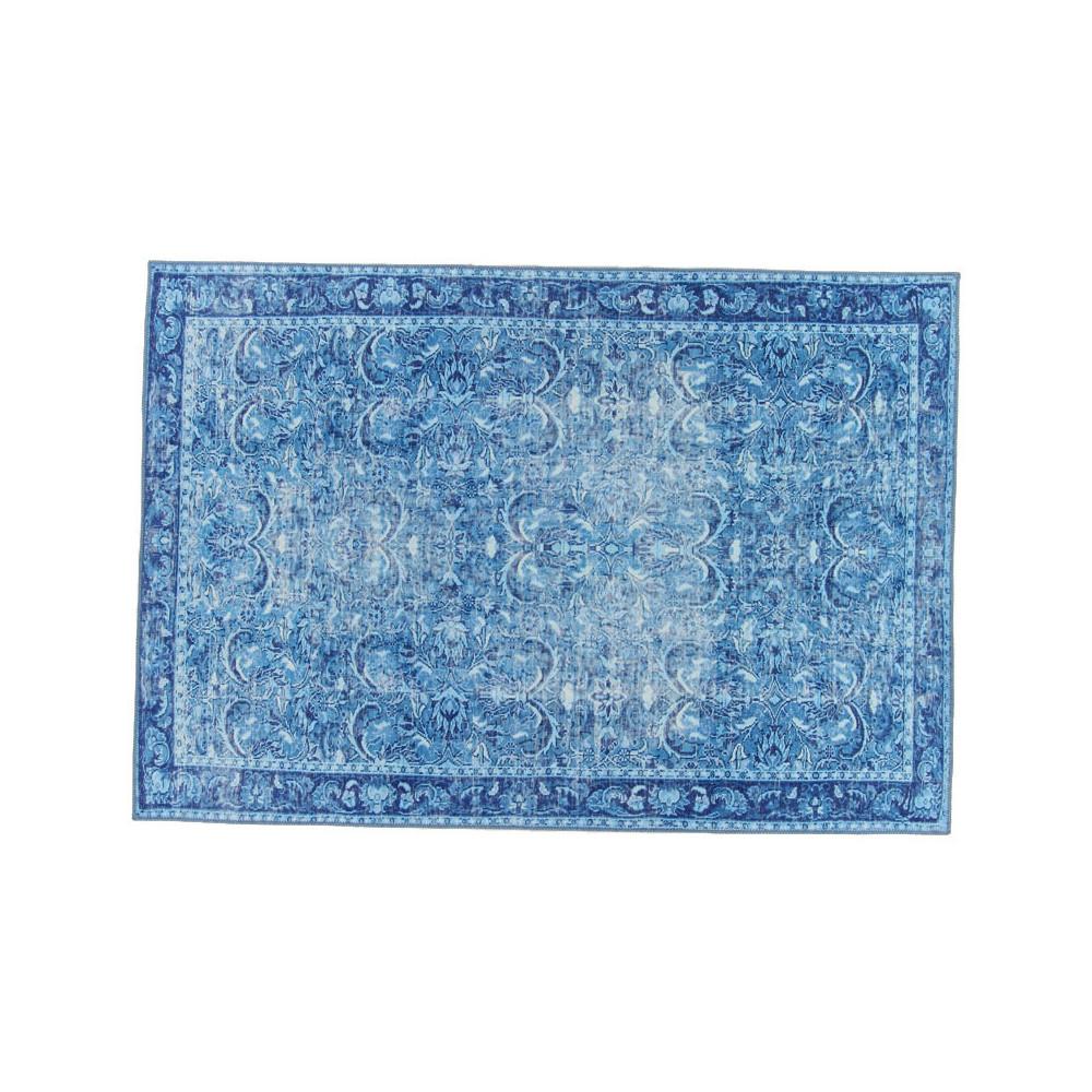 Tapis persan Tissu bleu 160*230 - PICTONIA