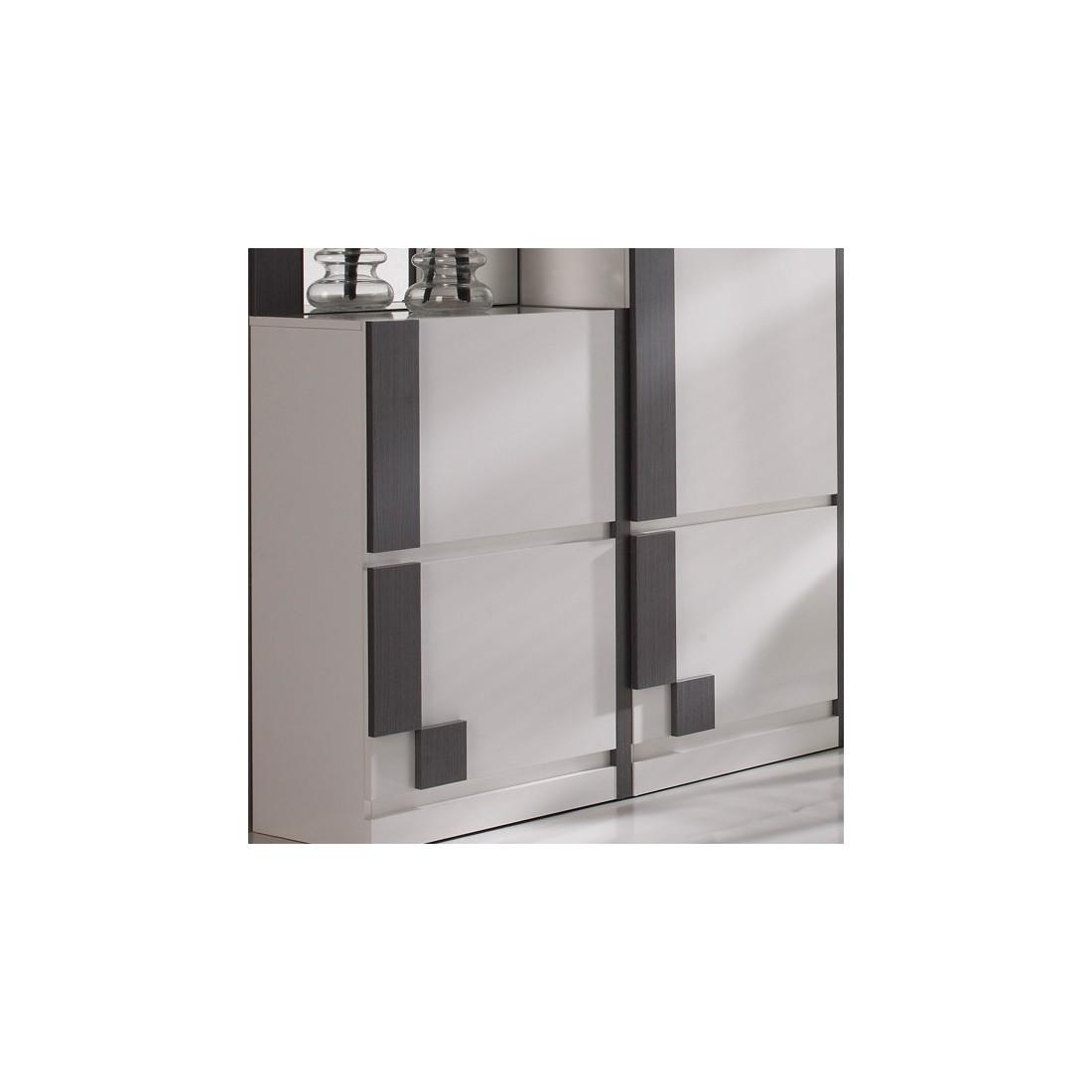 armoire designe 187 armoire blanc laqu 233 avec miroir dernier cabinet id 233 es pour la maison moderne