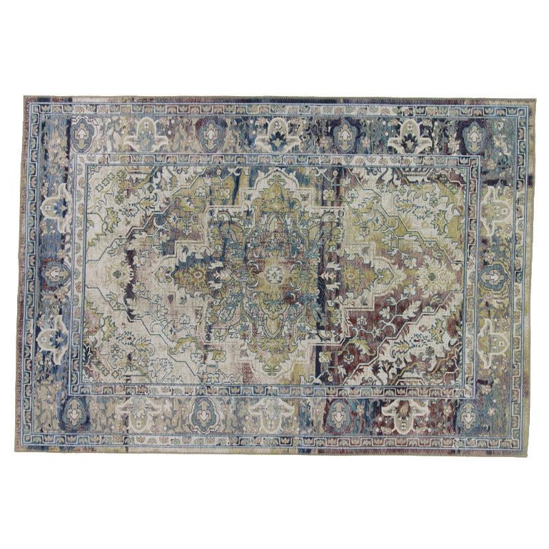Tapis persan Tissu bleu/vert 160*230 - CHELTONIA