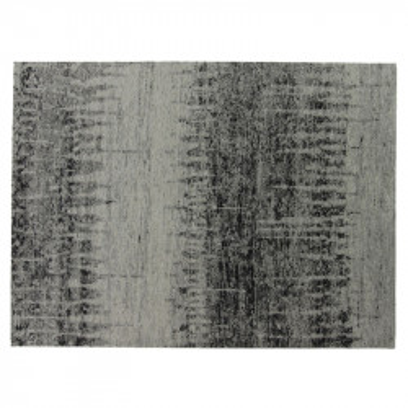 Tapis tissu gris 170*230 - BORKINIA