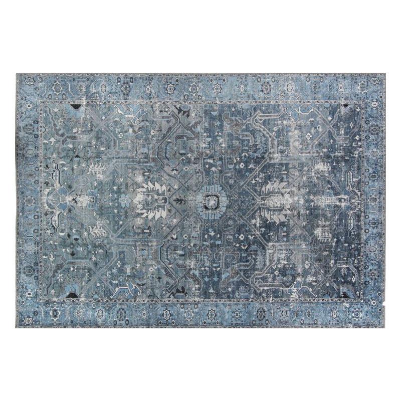 Tapis persan Tissu bleu 160*230 - DENIZLI