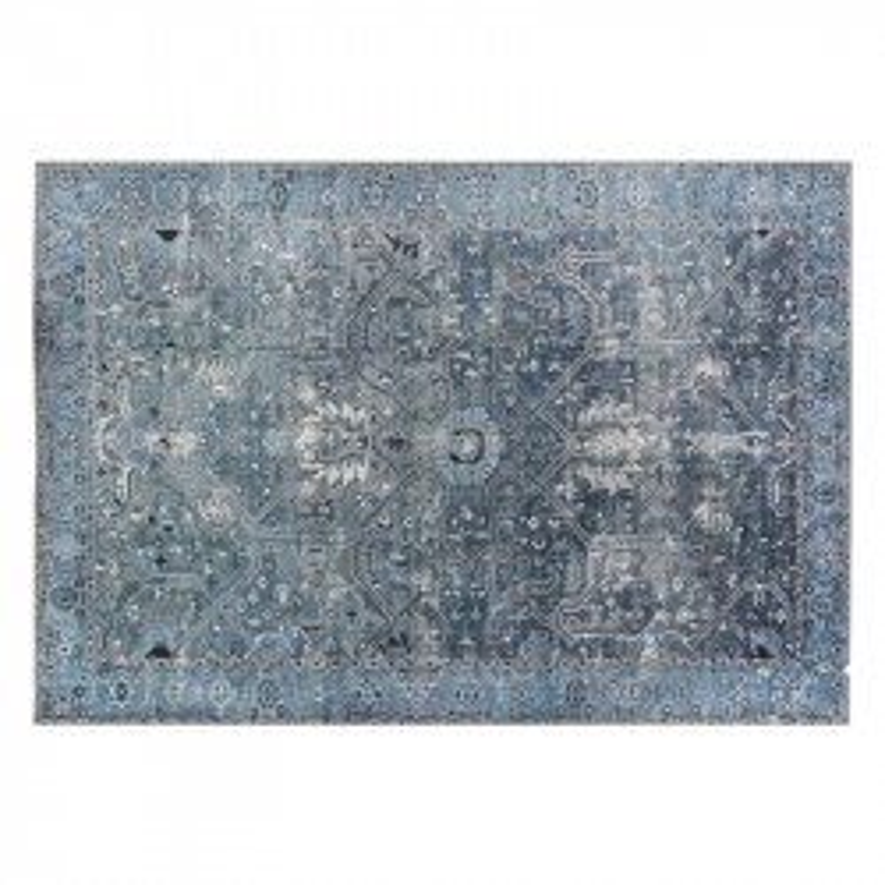 Tapis Tissu Tissu bleu 190*290 - DENIZLI