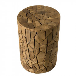 Table d'appoint Ronde Teck - KAYU