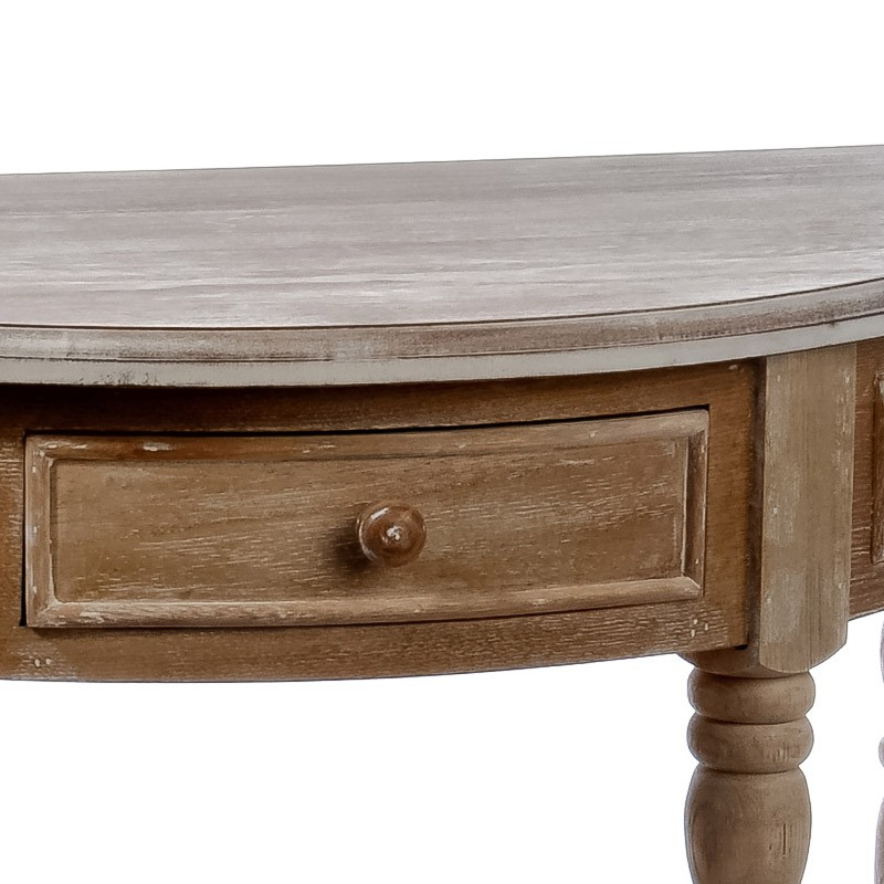 Console semi circulaire elise petits meubles for Meuble circulaire
