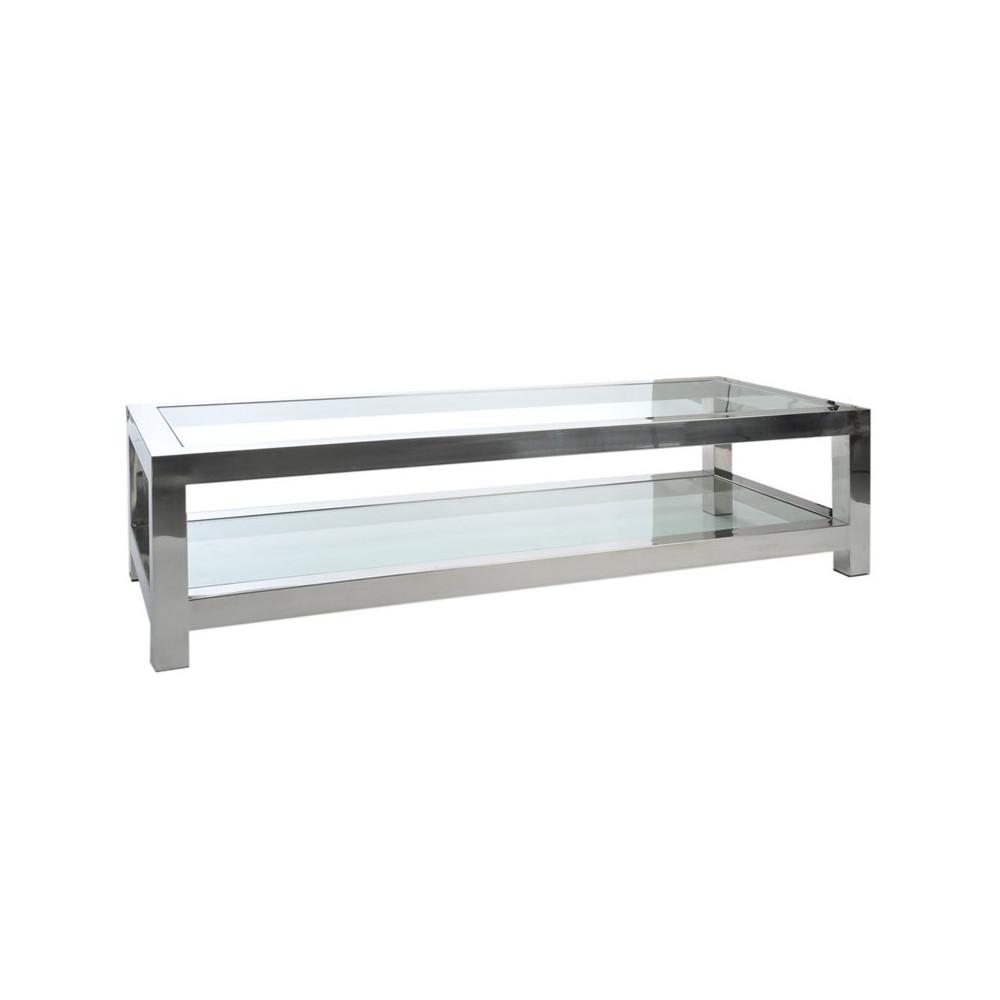 Table de salon métal - GLOSS