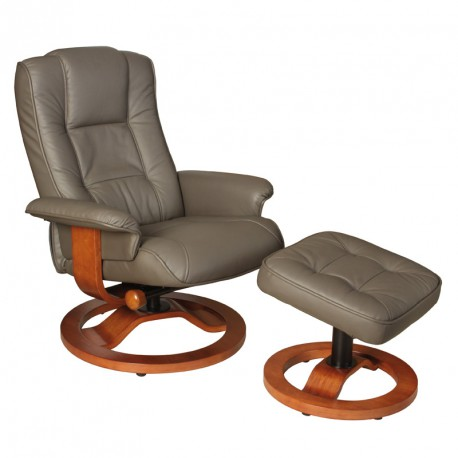Fauteuil Relaxation Taupe Relaxo Univers Du Salon