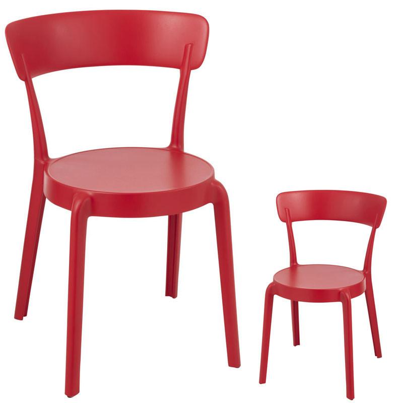 Duo de Chaises Rouges - DIEST