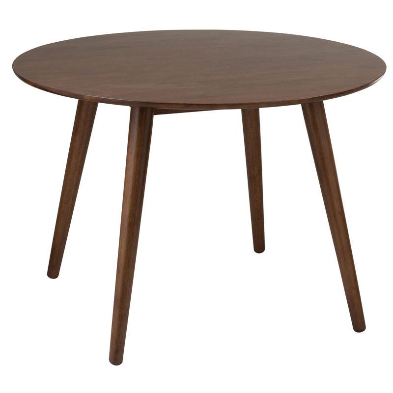 Table de repas ronde Bois marron - MORTSEL