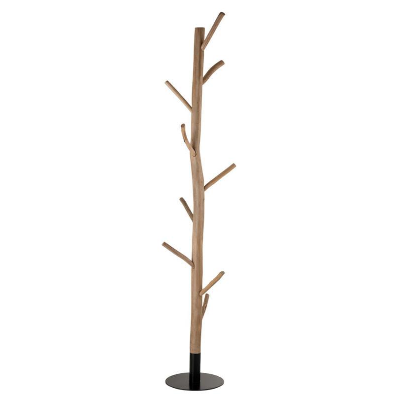 Portemanteaux branches de Bois/Métal noir - ATLANTA