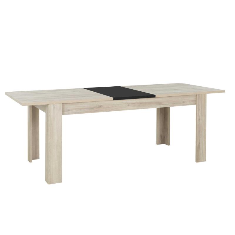 Table de repas à allonge Bois clair - ROTORUA