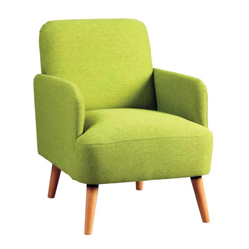 Fauteuil Vert style Scandinave - BODO