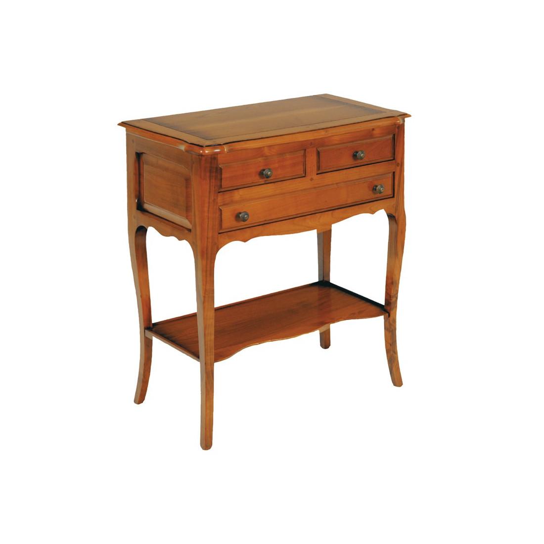 Gu ridon en merisier sam univers petits meubles for Petits meubles d appoint