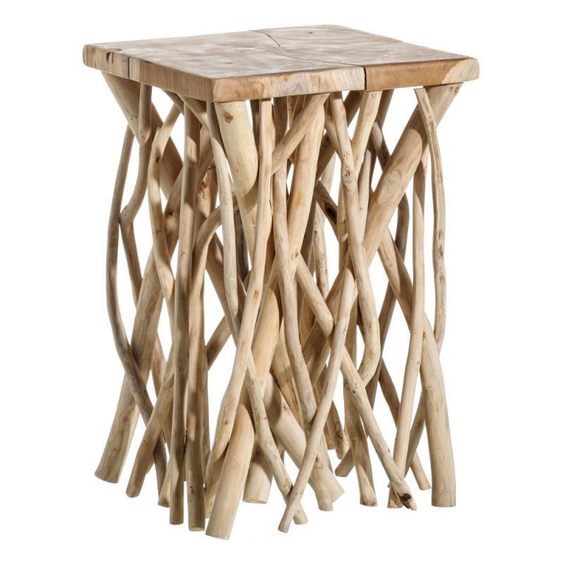 Table d'appoint en teck Naturel - PYLA