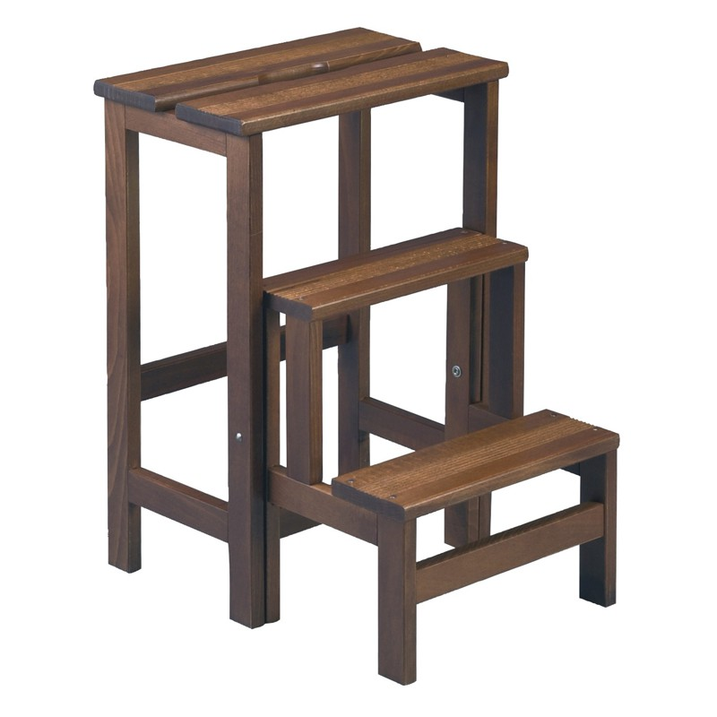 tabouret escabeau en bois de h tre tufelle univers des assises tousmesmeubles. Black Bedroom Furniture Sets. Home Design Ideas