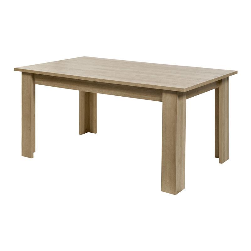 Table de repas à allonge Chêne blond/Gris - SIEM