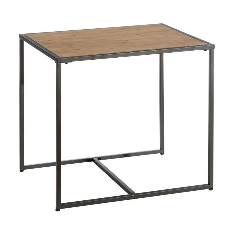 Table d'appoint Bois/Métal - CINCINNATI