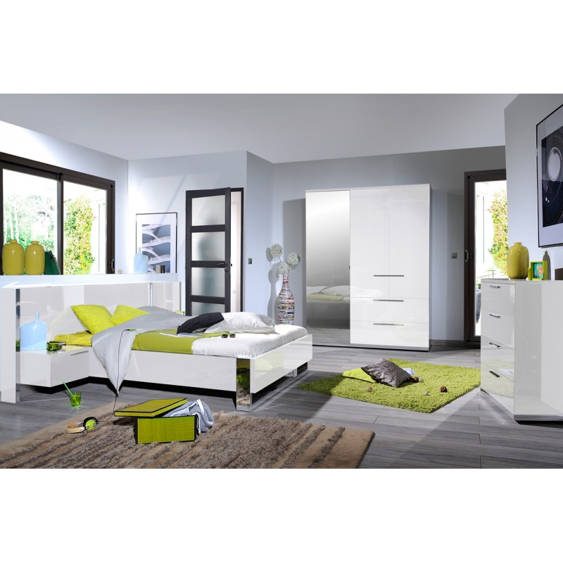 Chambre adulte compl te 140 190 sunny n 4 univers de for Prix chambre complete adulte