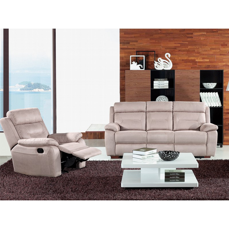 canap relax lectrique 3 places fauteuil relax lectrique microfibre accio univers des. Black Bedroom Furniture Sets. Home Design Ideas