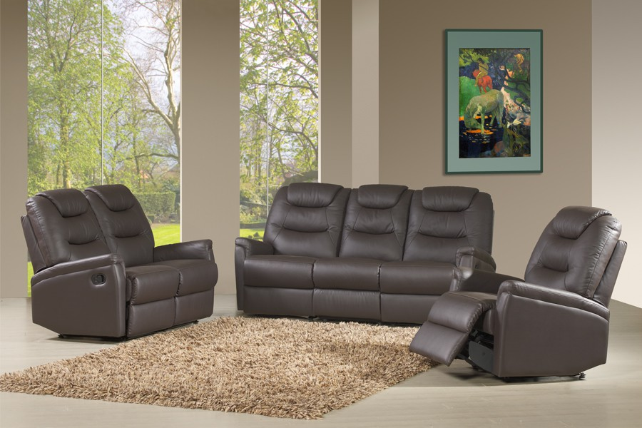 canap 3p relax 2p relax fauteuil relax niro l 190 x l 85 x h 100 promodispo. Black Bedroom Furniture Sets. Home Design Ideas
