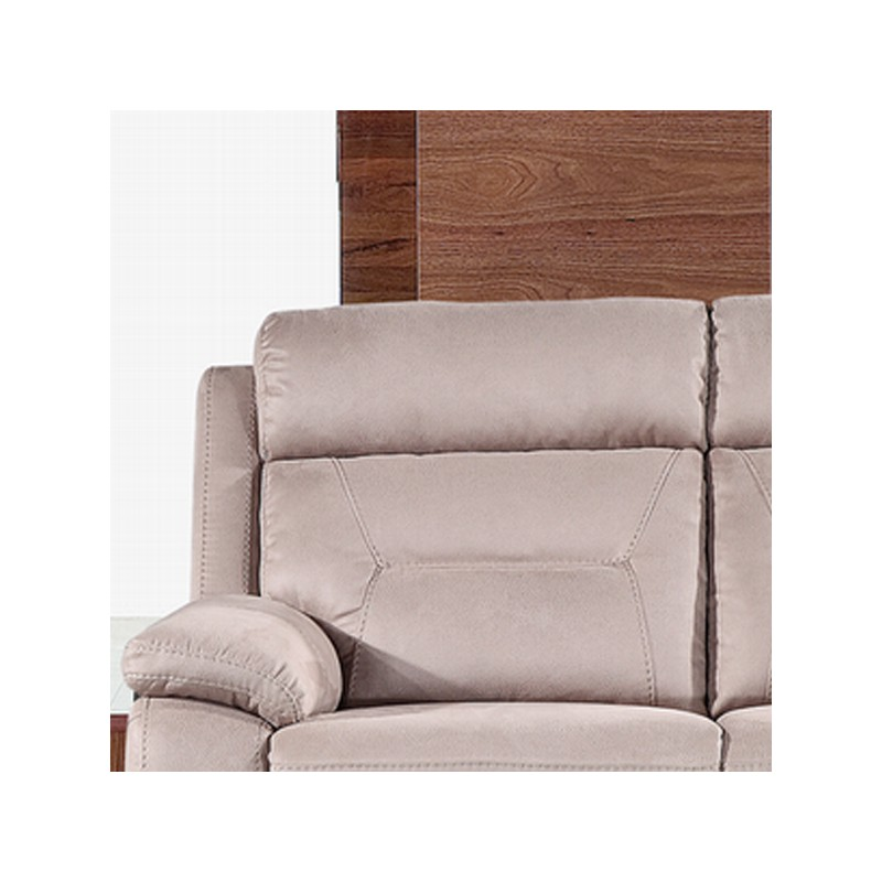 Canap relax lectrique 3 places microfibre accio univers des assises tou - Canape relax electrique 3 places ...