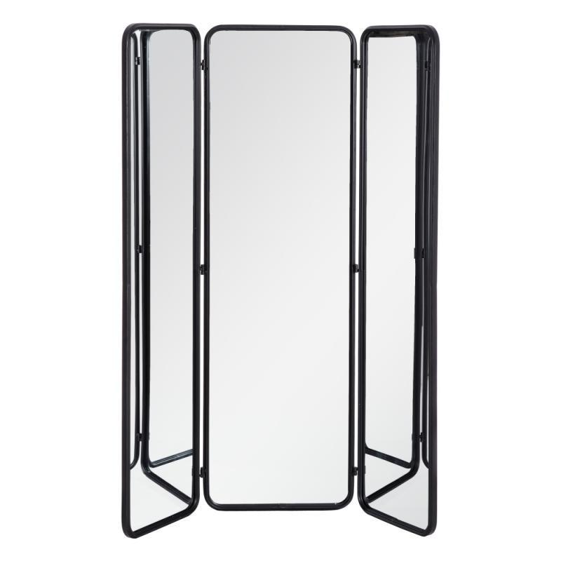 Paravent miroir 3 abattants Métal - DELGET