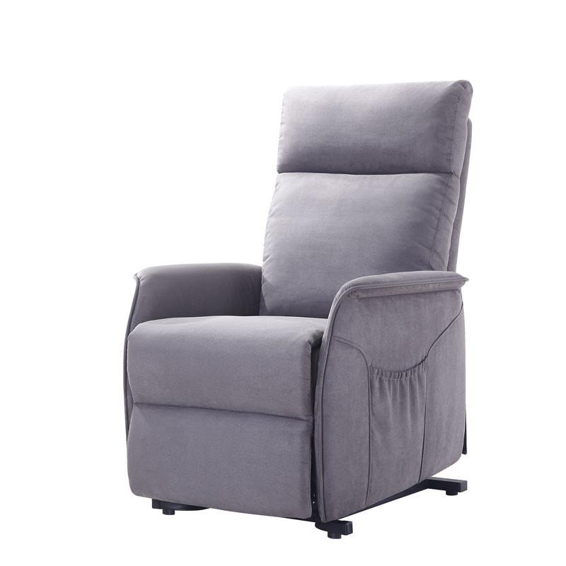 Fauteuil Relax Releveur Tissu gris - HEINRICK