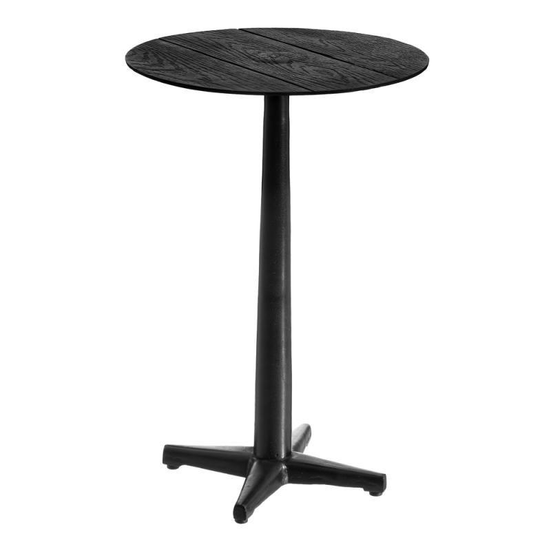 Table d'appoint ronde Noir Métal Taille S - ZOTA